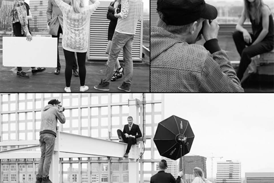 Behind the Scenes, Fashion Shoot, Location Photography, Studio Zelden, Teamplayers