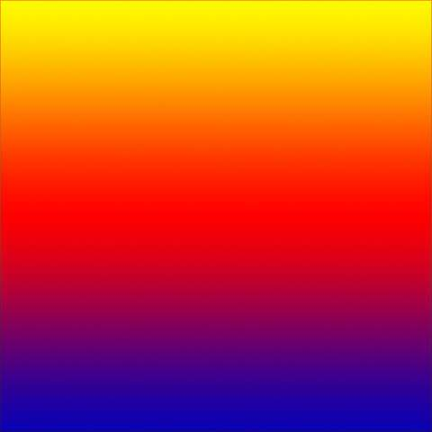 Yellow, Red, Blue