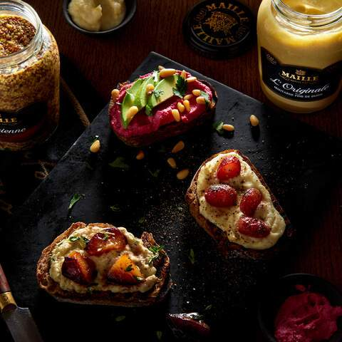 maille, tartines, tabletop, photography